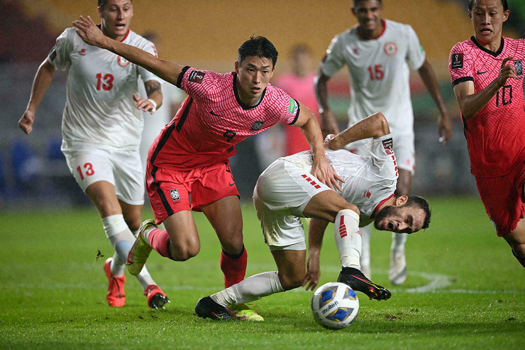 South Korea Won Against Lebanon in World Cup Qualifier